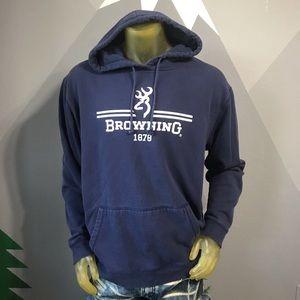 Browning Hoodie 2XL Hooded Sweatshirt Comfortable